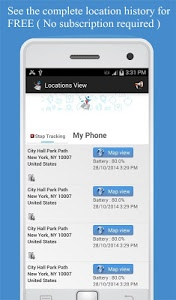screenshot of Friend Locator : Phone Tracker version 2.93