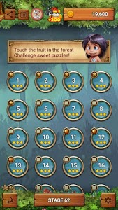 screenshot of Fruits Forest : Rainbow Apple version 1.7.2