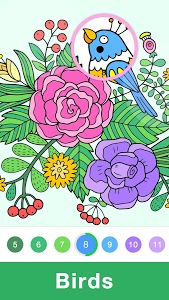 screenshot of Fun Coloring - Color By Number Paint Happy & Relax version 1.3.5