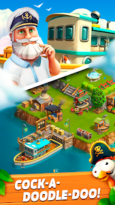 screenshot of Funky Bay - Farm & Adventure game version 32.638.0