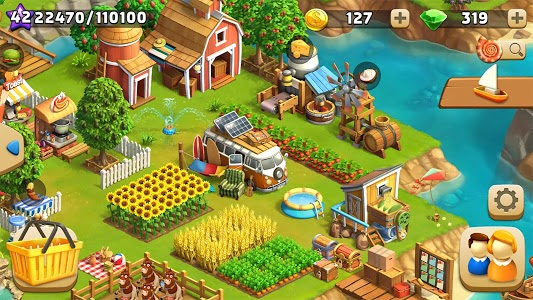 screenshot of Funky Bay - Farm & Adventure game version 31.341.0