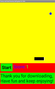 screenshot of Funny Bouncy Ball Game for Kids version 1.0