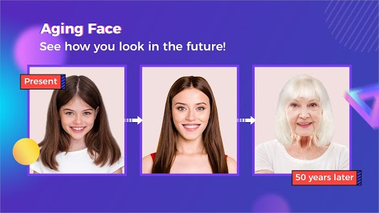 screenshot of Future Time - Aging Face,Palm Reading,Face Scan version 1.1.5