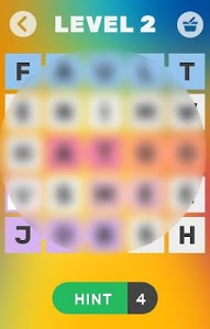 screenshot of GO ON! - Find the words version 1.1.9z