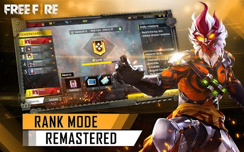 screenshot of Garena Free Fire version 1.28.0