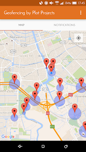 screenshot of Geofencing by Plot Projects version 3.7.0.3