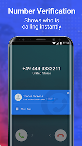 screenshot of Getcontact version 4.7.1