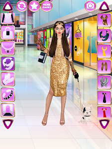 screenshot of Glam Salon - Beauty & Fashion Game version 1.5