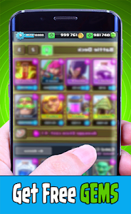 screenshot of Gems & Chest For Clash Royale version Clash