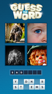 screenshot of Guess the Word. Word Games Puzzle. What's the word version 1.04