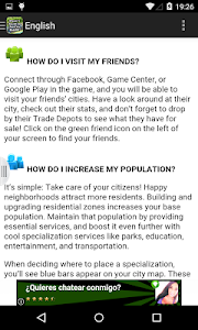 screenshot of Guide to SimCity BuildIt version 8.0.0