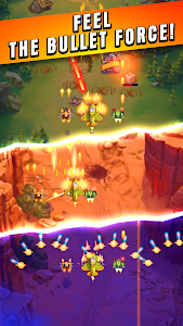 screenshot of HAWK – Force of an Arcade Shooter. Shoot 'em up version Varies with device