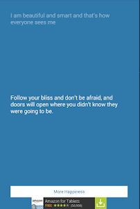 screenshot of Happiness Quotes version 1.0.4