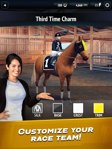 screenshot of Horse Racing Manager 2019 version 7.05