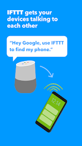 screenshot of IFTTT version Varies with device