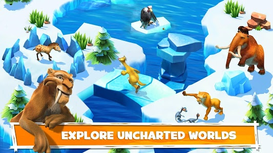 screenshot of Ice Age Adventures version 2.0.8d