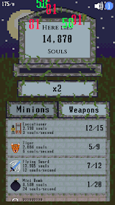 screenshot of Idle Graveyard - Collect Souls & Hire Minions ?? version 1.5.3