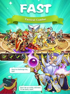 screenshot of Idle Heroes version 1.19.0.p2