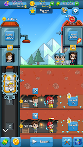 screenshot of Idle Miner Tycoon version 2.34.0