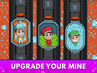 screenshot of Idle Miner Tycoon - Mine Manager Simulator version 2.85.1