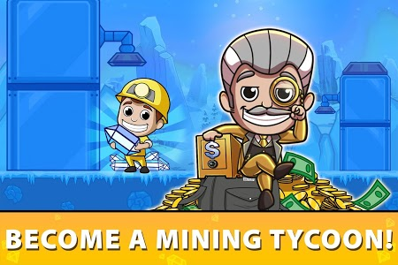screenshot of Idle Miner Tycoon - Mine Manager Simulator version 2.79.0