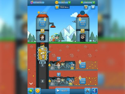 screenshot of Idle Miner Tycoon - Mine Manager Simulator version 2.72.2