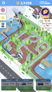 screenshot of Idle Sightseeing Train - Game of Train Transport version 1.1.2