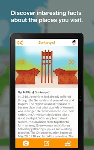 screenshot of Im Armenia - Travel Guide for Kids version 1.0