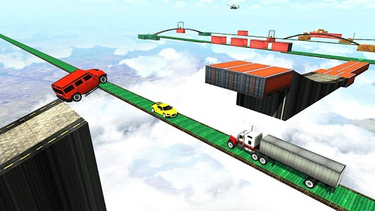screenshot of Impossible Tracks - Ultimate Car Driving Simulator version Varies with device