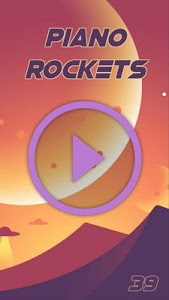 screenshot of In The Middle - Dodie - Piano Rockets version 1.0