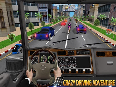 screenshot of In Truck Driving Games : Highway Roads and Tracks version 1.2