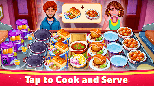 screenshot of Indian Cooking Star: Chef Restaurant Cooking Games version Varies with device