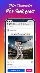 screenshot of Photo & Video Downloader for Instagram version 1.4.1