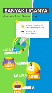screenshot of Jadwal Liga 1 Indonesia 2018-2019 & info liga satu version 1.6.2