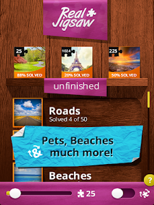 screenshot of Jigsaw Puzzles Real version 5.5.8G