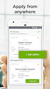 screenshot of Job Search by ZipRecruiter version 5.14.0