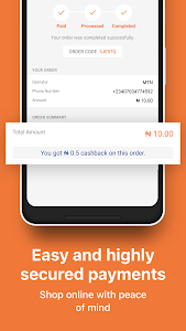 screenshot of Jumia One Mobile Wallet: Airtime & Bills Payment version 3.3.5