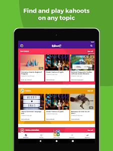 screenshot of Kahoot! version Varies with device