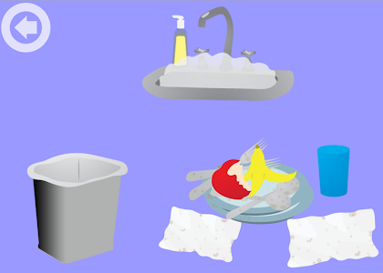 screenshot of Kids Cleanup version 4.0.1