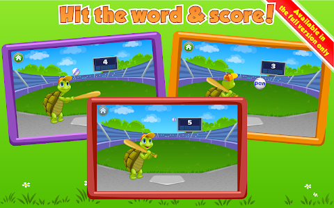 screenshot of Learn to Read with Tommy Turtle version 3.7.2