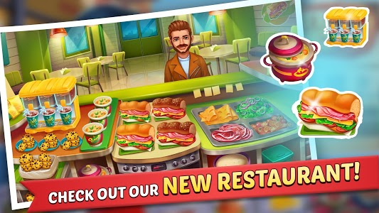 screenshot of Kitchen Craze: Cooking Games for Free & Food Games version 1.7.6