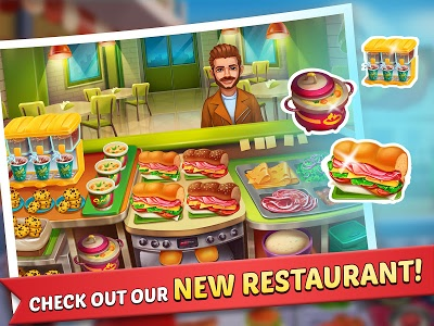 screenshot of Kitchen Craze: Master Chef Cooking Game version 1.7.6
