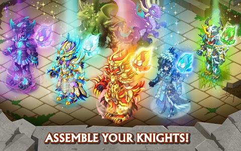 screenshot of Knights & Dragons - Action RPG version 1.54.200
