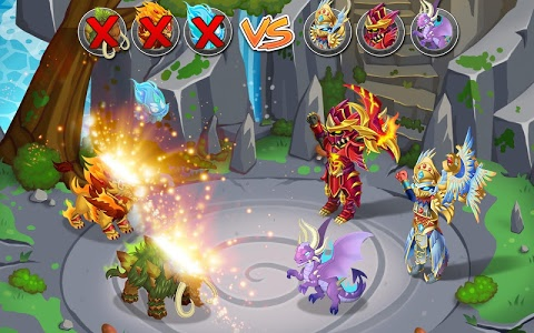screenshot of Knights & Dragons - Action RPG version 1.64.000