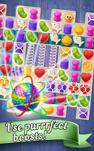 screenshot of Knittens: Sweet Match 3 Puzzles & Adorable Kittens version Varies with device