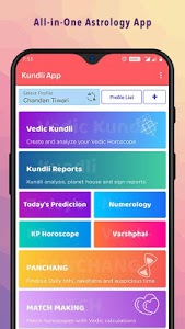 screenshot of Kundli - Free Horoscope version v3.3