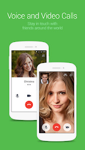 screenshot of LINE: Free Calls & Messages version 5.5.1