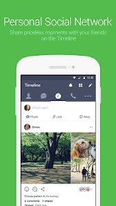screenshot of LINE: Free Calls & Messages version 9.6.1