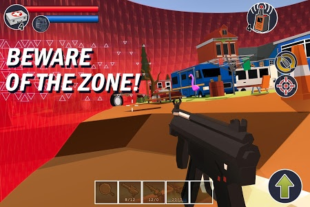 screenshot of NONPLAYERS BATTLE ROYALE version 1.0.87