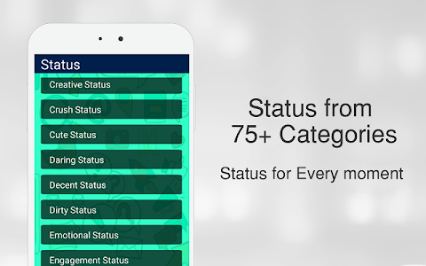 screenshot of Latest Whats Status 2020 version 8.0